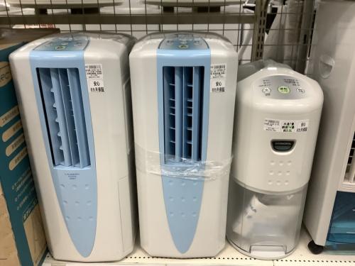 扇風機の除湿器