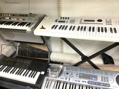 中古キーボードの楽器 買取 越谷