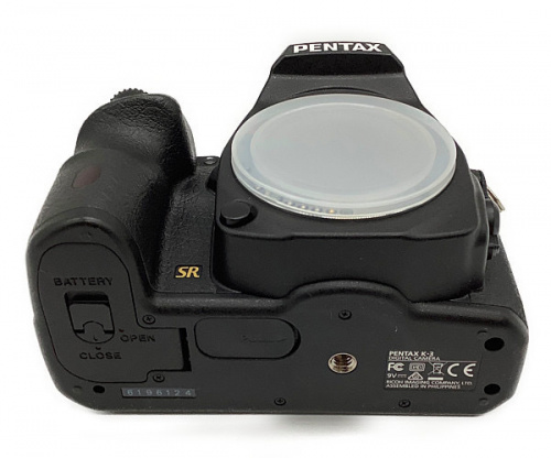 一眼レフカメラのPENTAX