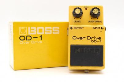 世界中のギタリストを虜にした伝説のエフェクター ~BOSS OD-1 OverDrive~
