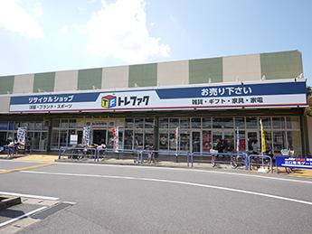 ショッピングモールなどの複合施設内