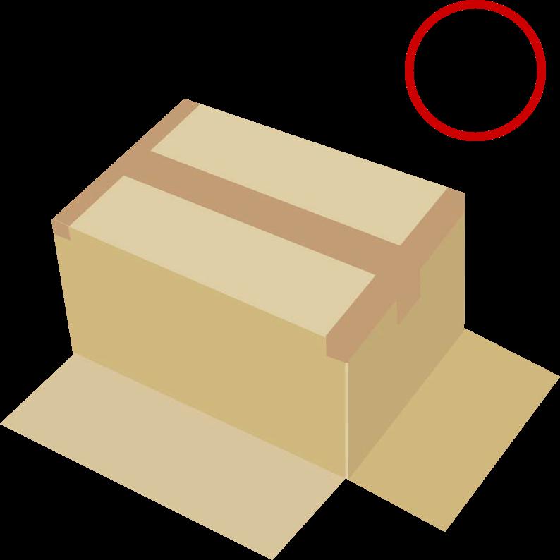 底抜け防止のテープの貼り方02