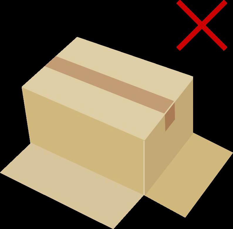 底抜け防止のテープの貼り方03