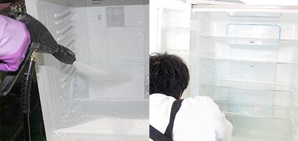冷蔵庫のクリーニング